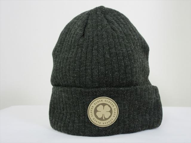 BlackClover Knit Cap CHILLED LUCK #1 Black Size Free