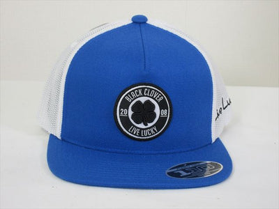 BlackClover Cap ANNIVERSARY PATCH FLAT #2 Blue/White Size Free