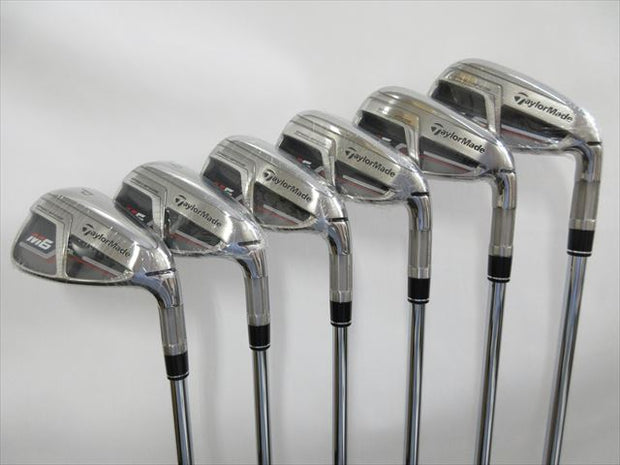 TaylorMade Iron Set Brand New M6 Regular RE-AX 85 STEEL (6 pieces)