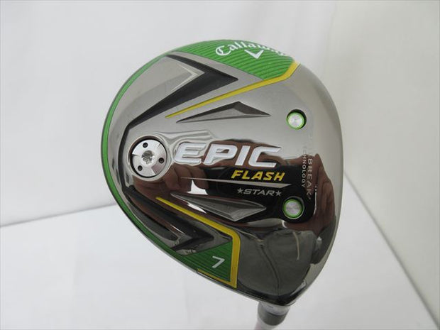 Callaway Fairway EPIC FLASH STAR 5W 21 Stiff Speeder EVOLUTION 3 FW