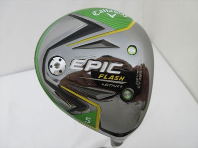 Callaway Fairway EPIC FLASH STAR 5W 18 Flex-SR Speeder EVOLUTION for CW(FW)