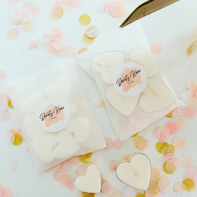 Dainty Kane Wedding Candles