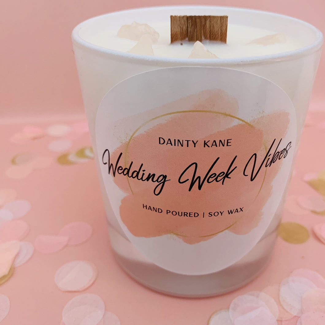 Wedding Candle | Wedding Gift Candle | Bridesmaid Candle | Dainty Kane