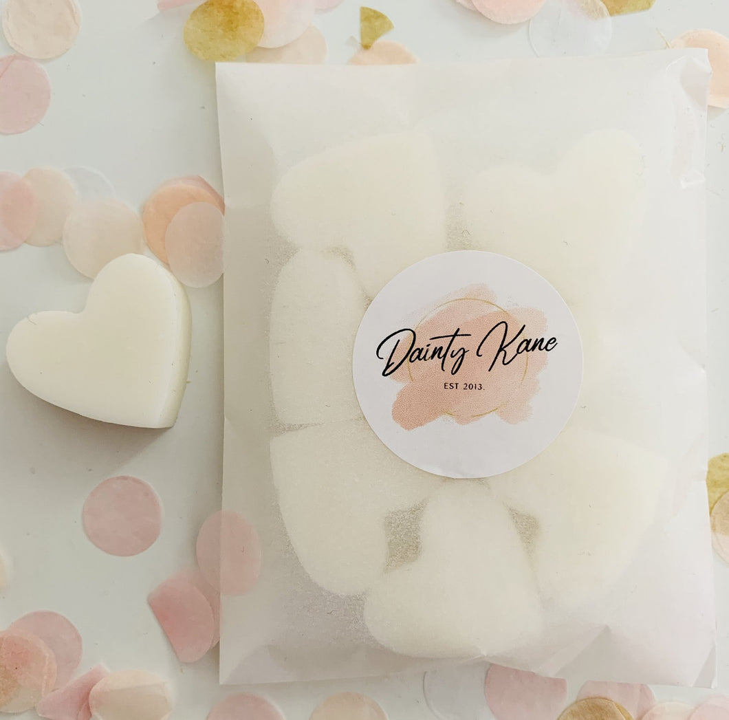 Heart Shaped Soy Wax Melts