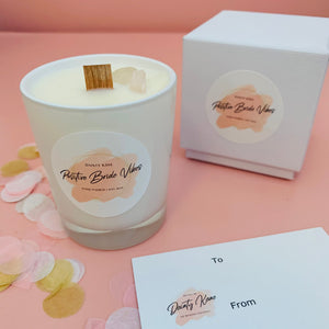 Positive Bride Vibes Travel Candle