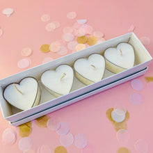 Load image into Gallery viewer, Heart Tealights & Gift box