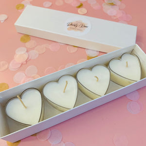 Heart Tealights & Gift box