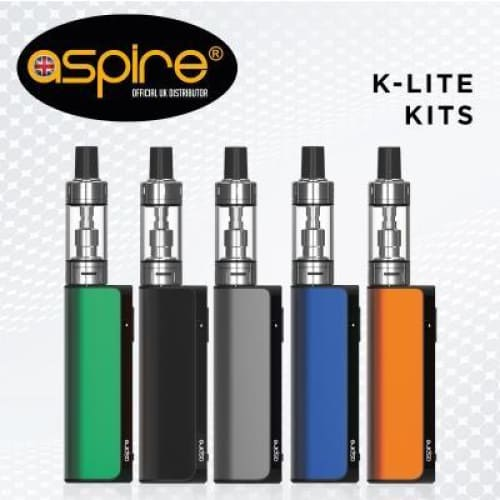 Aspire K Lite Vape Kit - Black - VAPE KIT