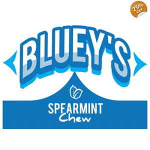 Bluey's Spearmint Chew - 50ml - High VG Eliquid