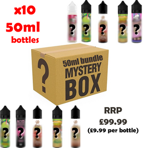 50ML MYSTERY BOX BUNDLE (10 BOTTLES)