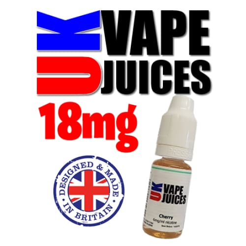 10ml uk vape juice 18mg