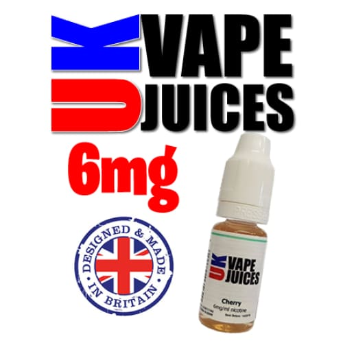 10ml uk vape juice 6mg