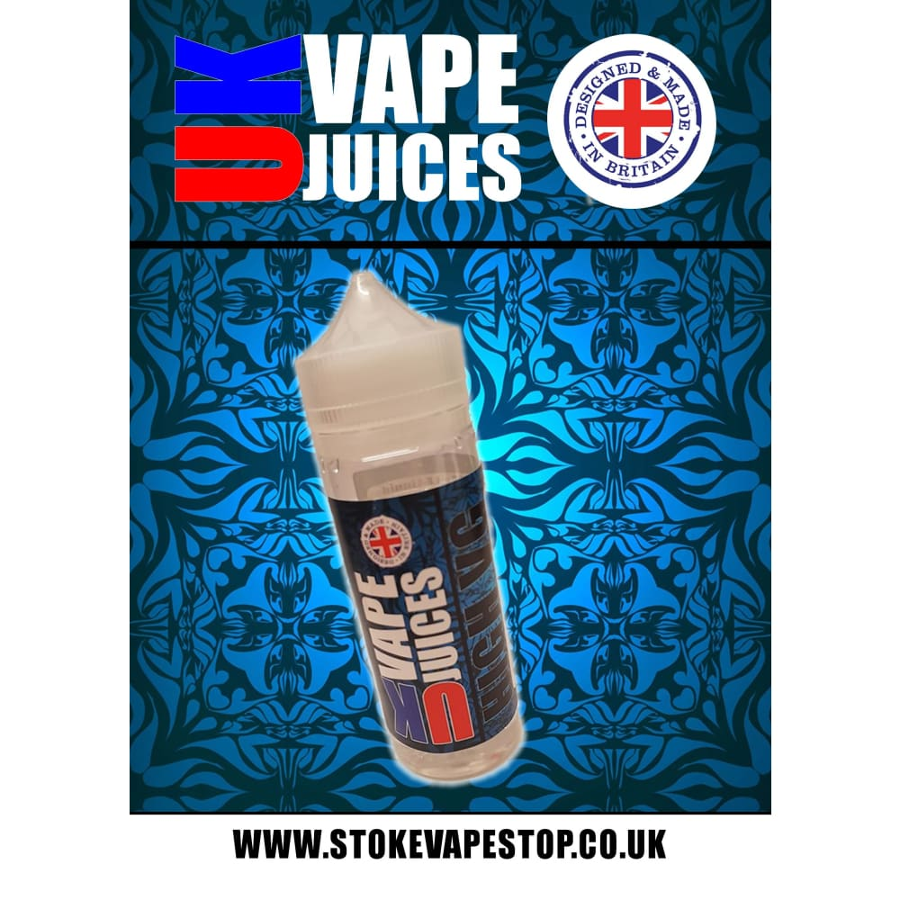 100ml uk vape juice premium