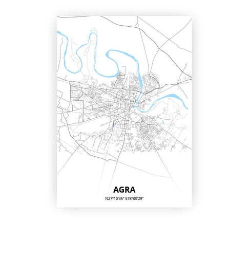 Agra poster - Classic - Printmycity