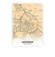 Load image into Gallery viewer, Amsterdam poster - Antique - Printmycity