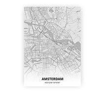 Load image into Gallery viewer, Amsterdam poster - Pencilorama - Printmycity