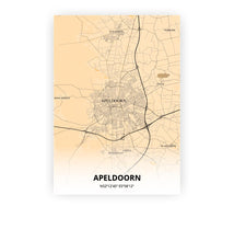 Load image into Gallery viewer, Apeldoorn poster - Antique - Printmycity