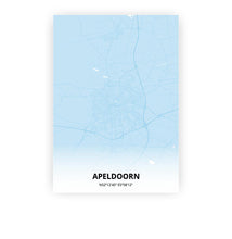 Load image into Gallery viewer, Apeldoorn poster - Baby Blue - Printmycity