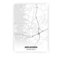 Load image into Gallery viewer, Apeldoorn poster - Cold Horizon - Printmycity