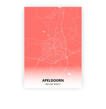 Load image into Gallery viewer, Apeldoorn poster - Coral Sunset - Printmycity