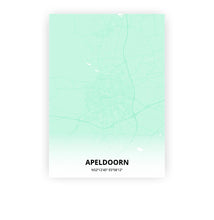 Load image into Gallery viewer, Apeldoorn poster - Empire Green - Printmycity