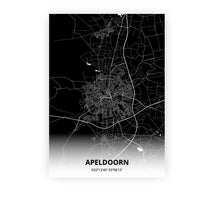Load image into Gallery viewer, Apeldoorn poster - Impact Black - Printmycity
