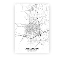 Load image into Gallery viewer, Apeldoorn poster - Mono - Printmycity