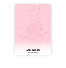Load image into Gallery viewer, Apeldoorn poster - Pink Cove - Printmycity
