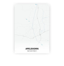 Load image into Gallery viewer, Apeldoorn poster - Urban - Printmycity