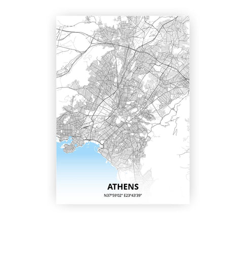 Athens poster - Classic - Printmycity