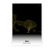 Load image into Gallery viewer, Bali poster - Black Lantern - Printmycity