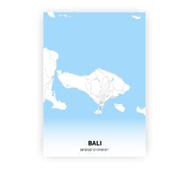 Load image into Gallery viewer, Bali poster - Classic - Printmycity