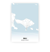 Load image into Gallery viewer, Bali poster - Cold Horizon - Printmycity