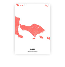 Load image into Gallery viewer, Bali poster - Coral Sunset - Printmycity