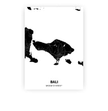 Load image into Gallery viewer, Bali poster - Impact Black - Printmycity
