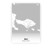 Load image into Gallery viewer, Bali poster - Lo-fi - Printmycity