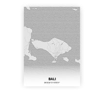 Load image into Gallery viewer, Bali poster - Pencilorama - Printmycity