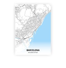 Load image into Gallery viewer, Barcelona poster - Classic - Printmycity