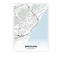 Load image into Gallery viewer, Barcelona poster - Cold Horizon - Printmycity