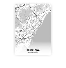 Load image into Gallery viewer, Barcelona poster - Lo-fi - Printmycity