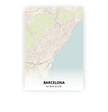 Load image into Gallery viewer, Barcelona poster - Metropolis - Printmycity