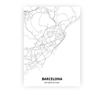Load image into Gallery viewer, Barcelona poster - Minimal - Printmycity