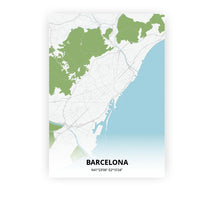 Load image into Gallery viewer, Barcelona poster - Urban - Printmycity