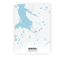 Load image into Gallery viewer, Bergen poster - Urban - Printmycity