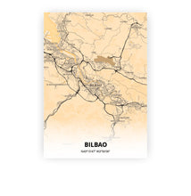 Load image into Gallery viewer, Bilbao poster - Antique - Printmycity