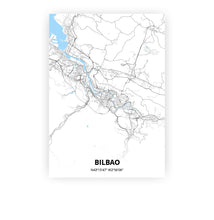 Load image into Gallery viewer, Bilbao poster - Classic - Printmycity