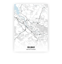 Load image into Gallery viewer, Bilbao poster - Cold Horizon - Printmycity