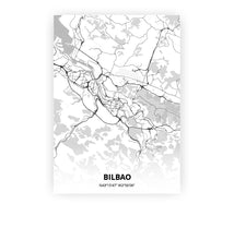 Load image into Gallery viewer, Bilbao poster - Lo-fi - Printmycity