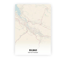 Load image into Gallery viewer, Bilbao poster - Metropolis - Printmycity