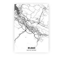 Load image into Gallery viewer, Bilbao poster - Mono - Printmycity
